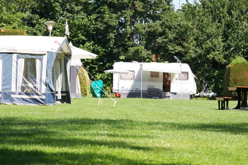 Camping Holland Poort caravans