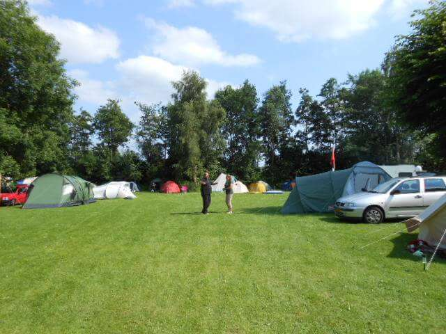 Camping Holland Poort dansen