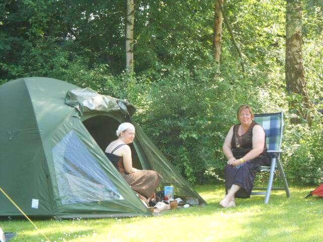 Camping Holland Poort kleine tent